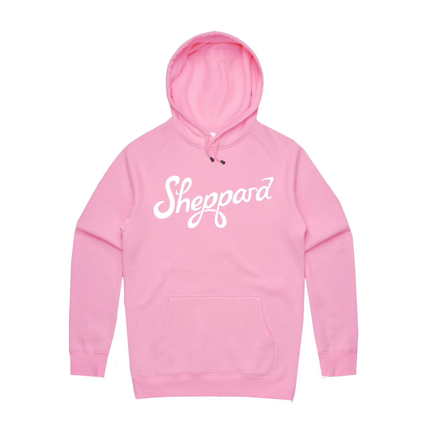Sheppard - Pink Logo Hoodie