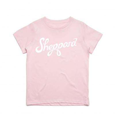 Sheppard - Kids Logo Pink Tee