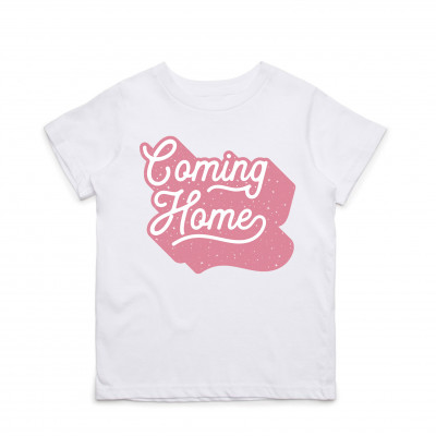 SHEPPARD - COMING HOME PINK YOUTH TEE