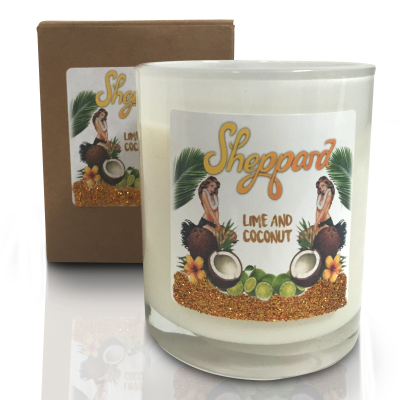 Sheppard - Lime and Coconut Candle