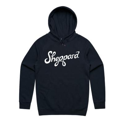 Sheppard - Navy Logo Hoodie